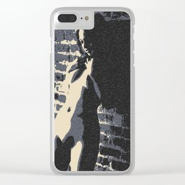 Alone in the Dark Clear iPhone Case