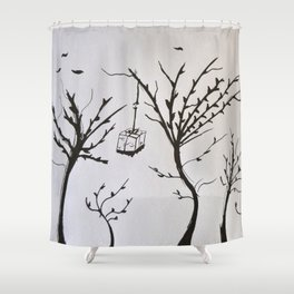 Tribute to Miguel Hernandez #1 Shower Curtain