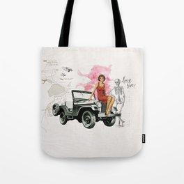 Bomshell Tote Bag