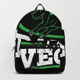 I am a vegan badass Backpack