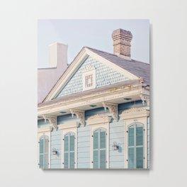Shotgun House #1 - New Orleans Photography Metal Print