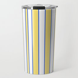 Strips 3-line,band,striped,zebra,tira,linea,rayas,rasguno,rayado. Travel Mug