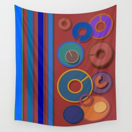 Abstract #54 Wall Tapestry