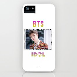 BTS Song IDOL Design - Jimin iPhone Case