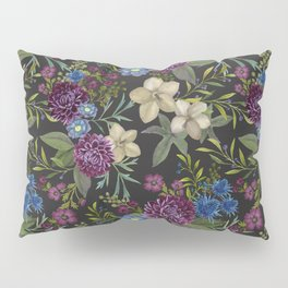 Moody Blooms Pillow Sham
