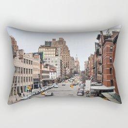 Goin' Downtown NYC Style Rectangular Pillow