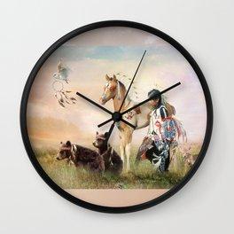 Little Warriors Wall Clock