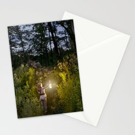 Entering the Forest Stationery Cards