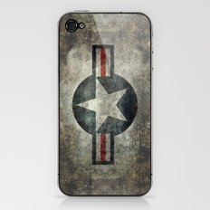 Stylized USAF star symbol (roundel)  #1 iPhone & iPod Skin
