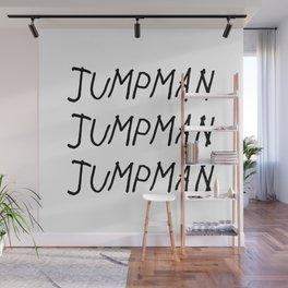Jumpman Wall Mural