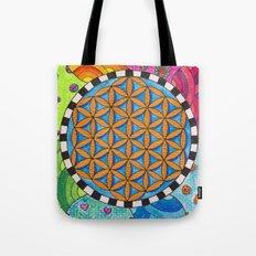 Flower of Life - Spring Days Tote Bag