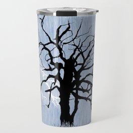 Gnarled Tree and Lightning Travel Mug