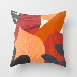 Autumn Abstract 2 Throw Pillow