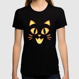 Kitty Cat Jack O' Lantern T-shirt