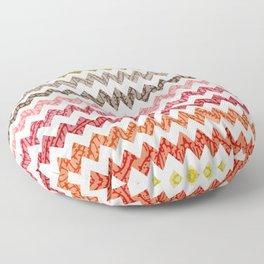 TRIBAL CHEVRON PATTERN Floor Pillow
