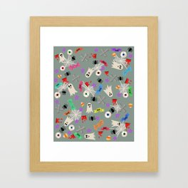 Maybe you're haunted #5 Framed Art Print