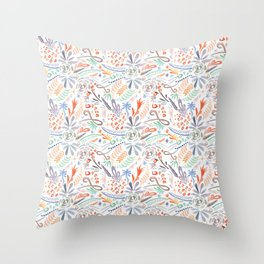 Whimsical Wind Throw Pillow