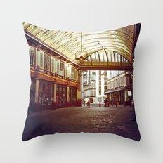 Old London Throw Pillow