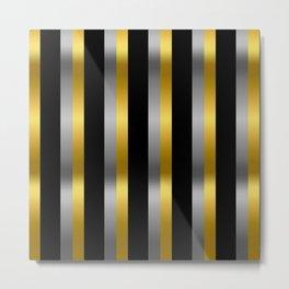Billy (Gold Black) Metal Print