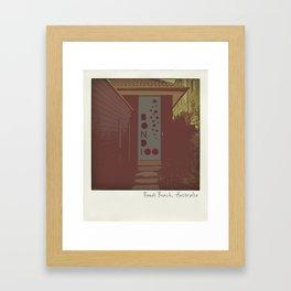 Bondi Beach House Framed Art Print