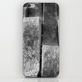 Wavy wood iPhone Skin