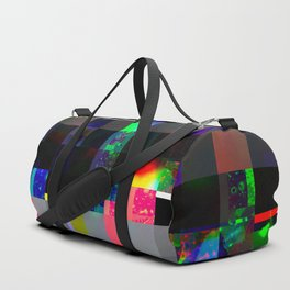 Beads Glitch Duffle Bag