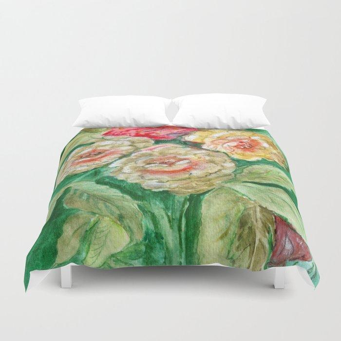 Floral Fusion Duvet Cover