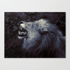 The King's Voice Canvas Print