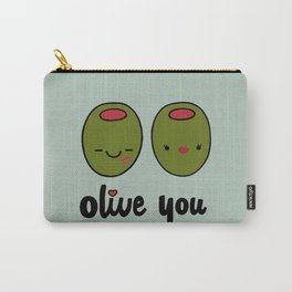 Olive You Carry-All Pouch