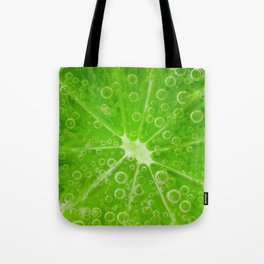 Lime Fizz Tote Bag