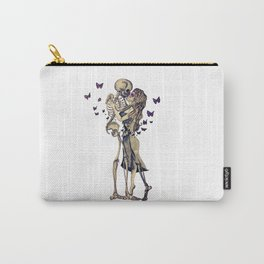 Always Kiss Goodnight Skeletons Carry-All Pouch