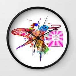 Hummingbird and No 5 Wall Clock