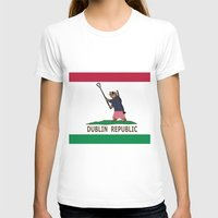 dublin T-shirts featuring Dublin Republic by Luciano Fortin