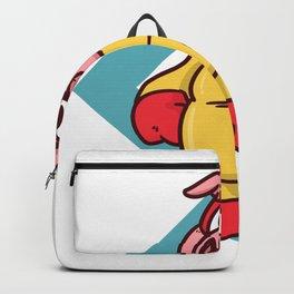 superhero pig Backpack