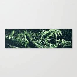 Metroid Metal: M2Q- End of the Line Canvas Print