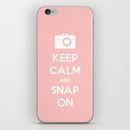 Keep Calm and Snap On iPhone Skin
