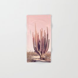 Blush Cactus Hand & Bath Towel