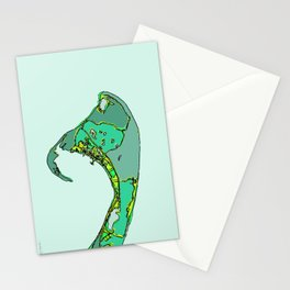 Abstract Map Provincetown MA Stationery Cards
