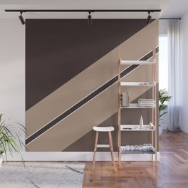 Autumn Colors Geometric Abstraction Wall Mural