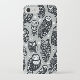 Flock of Owls iPhone Case