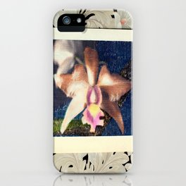 Not Your Usual Corsage Cattleya iPhone Case