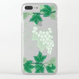 Abstract frame from grapevines Clear iPhone Case