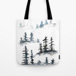 Winter's Day Tote Bag