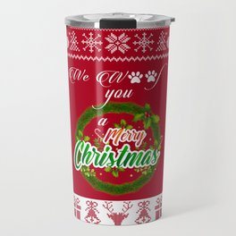 Christmas Gifts for Dog Owner Travel Mug