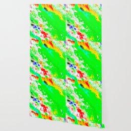 Glitchin' Green Wallpaper