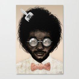 Portrait of Toro Y Moi Canvas Print