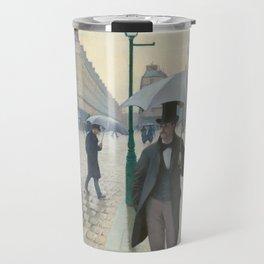 Paris Street; Rainy Day Travel Mug