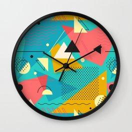 Memphis One Wall Clock