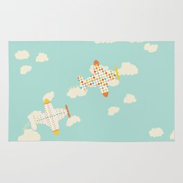 Flying By Rug
