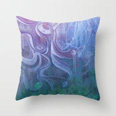 Electric Dreams II Throw Pillow